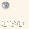 Swarovski 5840 12mm Baroque Pearls Dark Grey (100  pieces)
