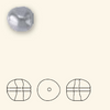 Swarovski 5840 12mm Baroque Pearls Lavender (100  pieces)