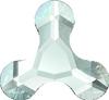Swarovski 2708 12mm Molecule Flatback Fuchsia (96 pieces)