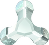 Swarovski 2708 8mm Molecule Flatback Fuchsia (288 pieces)