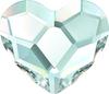 Swarovski 2808 6mm Heart Flatback Crystal Golden Shadow (288 pieces)