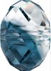 Swarovski 5040 8mm Rondelle Beads Crystal-Montana Blend (288 pieces)