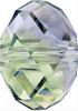 Swarovski 5040 8mm Rondelle Beads Provence Lavender-Chrysolite Blend (288 pieces)