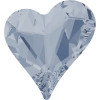 Swarovski 4809 17mm Sweet Heart Fancy Stones Crystal Blue Shade ( 48 pieces)