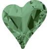 Swarovski 4809 17mm Sweet Heart Fancy Stones Erinite ( 48 pieces)
