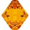 Swarovski 6328 8mm Top-drilled Bicone Beads Tangerine (288 pieces)