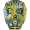 Swarovski 5750 19mm Skull Beads Crystal Iridescent Green (12 pieces)