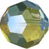 Swarovski 5000 4mm Round Beads Crystal Iridescent Green (72 pieces)
