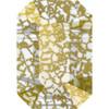 Swarovski 5514 10mm Pendulum Beads Crystal Gold Patina