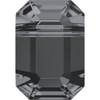 Swarovski 5514 10mm Pendulum Beads Crystal Silver Night