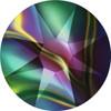 Swarovski 2088 20ss Crystal Rainbow Dark Xirius Flatbacks