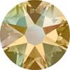 Swarovski Crystal Flatback Light Colorado Topaz Shimmer Effect