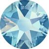 Swarovski Crystal Flatback Light Saphire Shimmer Effect