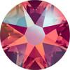 Swarovski Crystal Flatback Light Siam Shimmer Effect