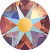 Swarovski Crystal Flatback Topaz Shimmer Effect