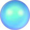 Swarovski style # 5817 Half-Dome Pearls Crystal Iridescent Light Blue Pearl
