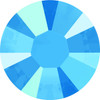 Swarovski style # 2038 & 2078 Flatback Hot Fix Crystal Summer Blue Hot Fix