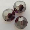 Swarovski 5000 10mm Round Beads Amethyst Satin  (144 pieces)