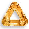 Swarovski 4737 20mm Triangle Beads Crystal Copper