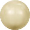 Swarovski 5810 2mm Round Pearls Light Gold (1000 pieces)