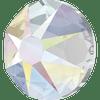 On Hand: Swarovski 2078 12ss( ~3.1mm) Xilion Flatback Crystal AB Hot Fix  (144  pieces)