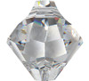 Swarovski 6301 6mm Top-drilled Bicone Light Sapphire