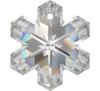 On Hand: Swarovski 6704 20mm Snowflake Pendant Crystal (3  pieces)