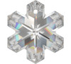 On Hand: Swarovski 6704 30mm Snowflake Pendant Crystal  (2 pieces)