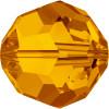 Swarovski 5000 4mm Round Beads Tangerine (72 pieces)