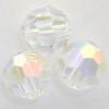 On Hand: Swarovski 5000 6mm Round Beads Crystal AB  (36 pieces)