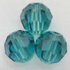 On Hand: Swarovski 5000 6mm Round Beads Indicolite  (36 pieces)