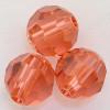 On Hand: Swarovski 5200 9mm Oval Beads Padparadscha (12 pieces)