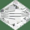 On Hand: Swarovski 5328 10mm Xilion Bicone Beads Crystal   (6 pieces)