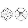 Swarovski 5328 bicone line drawing