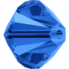 On Hand: Swarovski 5328 4mm Xilion Bicone Beads Sapphire   (72 pieces)