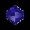 On Hand: Swarovski 5328 6mm Xilion Bicone Beads Majestic Blue (36 pieces)
