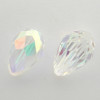 Swarovski 5500 9mm Pearshape Beads Crystal AB