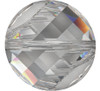 Swarovski 5621 18mm Twist Beads Crystal Moonlight