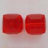 Swarovski 5601 4mm Cube Beads Light Siam  (288 pieces)