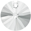 Swarovski 6428 6mm Wheel Pendants Crystal Shimmer (18 pieces)