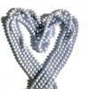 Swarovski 5810 4mm Round Pearls Crystal Iridescent Dreamy Blue (100 pieces)
