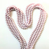 On Hand: Swarovski 5810 8mm Round Pearls Crystal Iridescent Dreamy Rose (50 pieces)