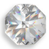 On Hand: Swarovski 6401 12mm Octagon Pendant Clear Crystal (18  pieces)
