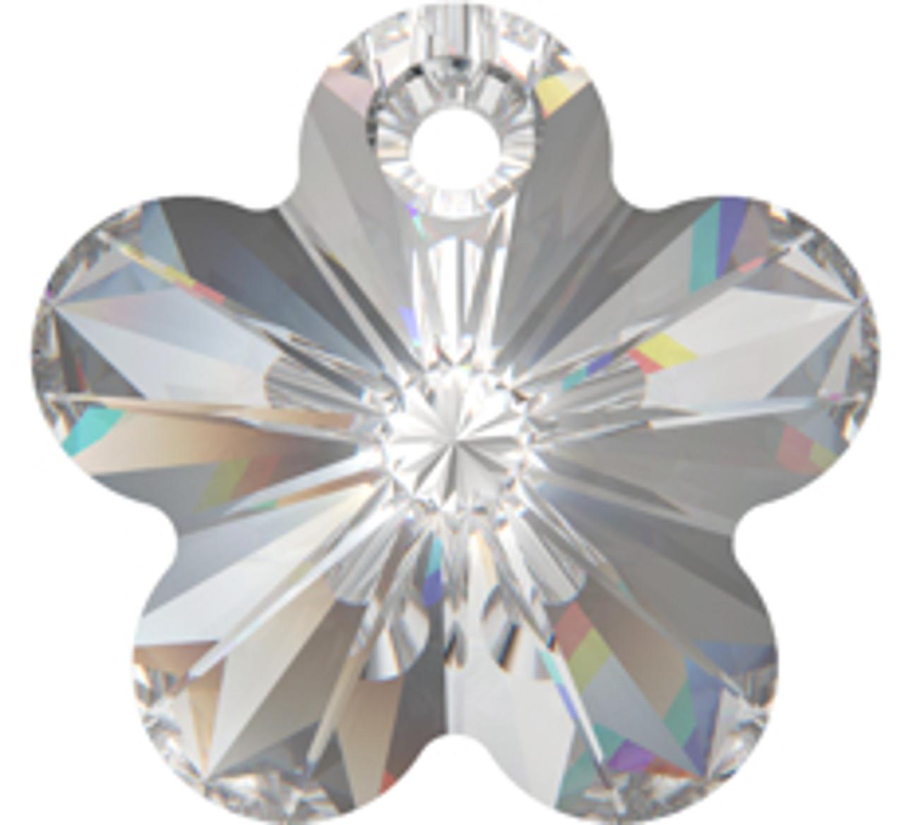 1xSwarovski ® Crystal 6744 18mm Flower Pendant