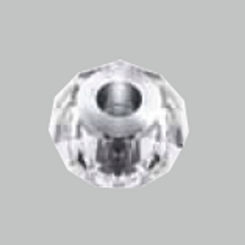 Swarovski 5940 14mm BeCharmed Briolettes Crystal Silver Shade