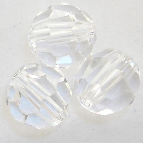 Swarovski 5000 10mm Round Beads Crystal  (12 pieces)