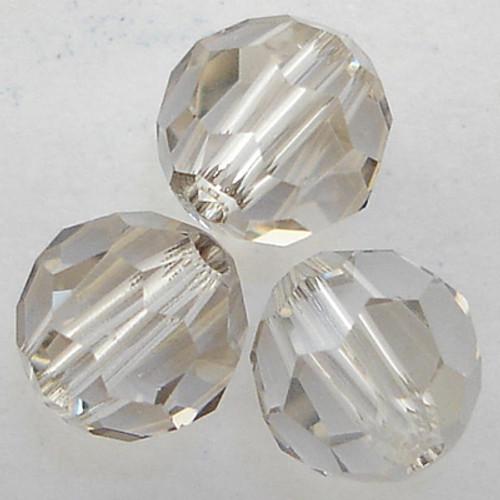Swarovski 5000 10mm Round Beads Crystal Silver Shade  (144 pieces)