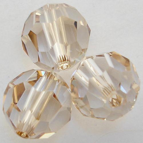 Swarovski 5000 3mm Round Beads Crystal Golden Shadow  (720 pieces)