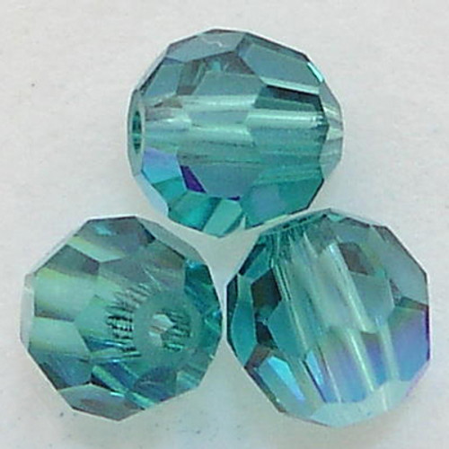 Swarovski 5000 4mm Round Beads Indicolite AB  (720 pieces)