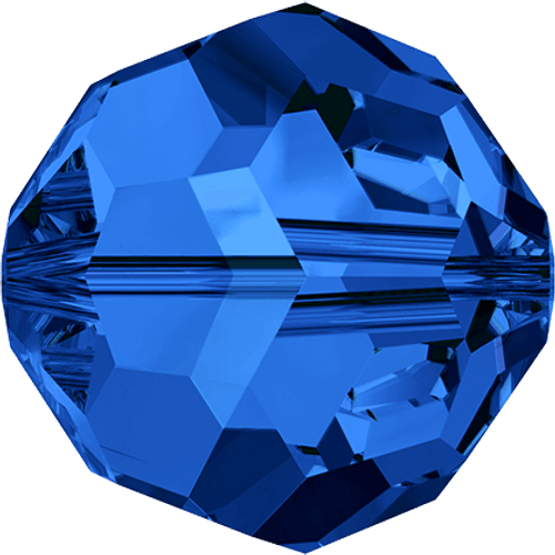 Swarovski 5000 4mm Round Beads Sapphire  (72 pieces)